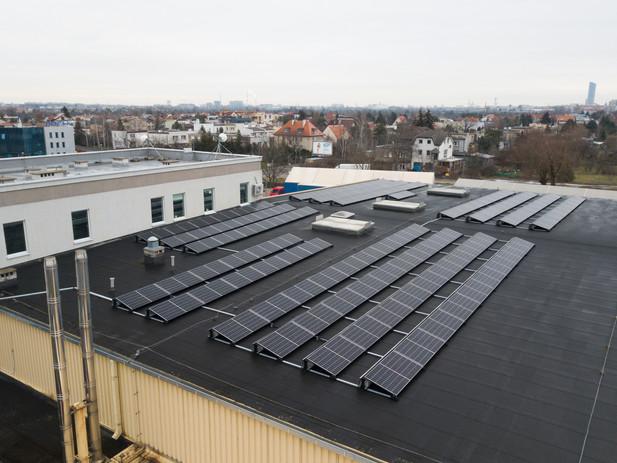 Nasza elektrownia fotowoltaiczna we Wrocławiu