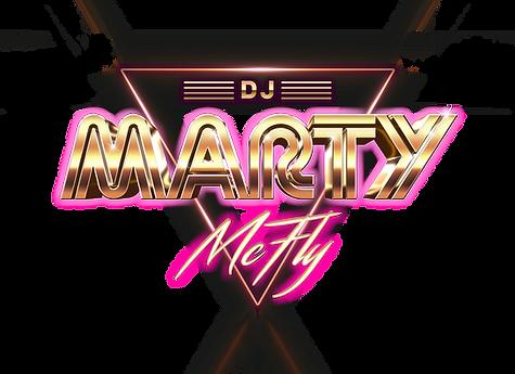 DJ Marty McFly Business Logo | DJ in Des Moines | DJ in Iowa