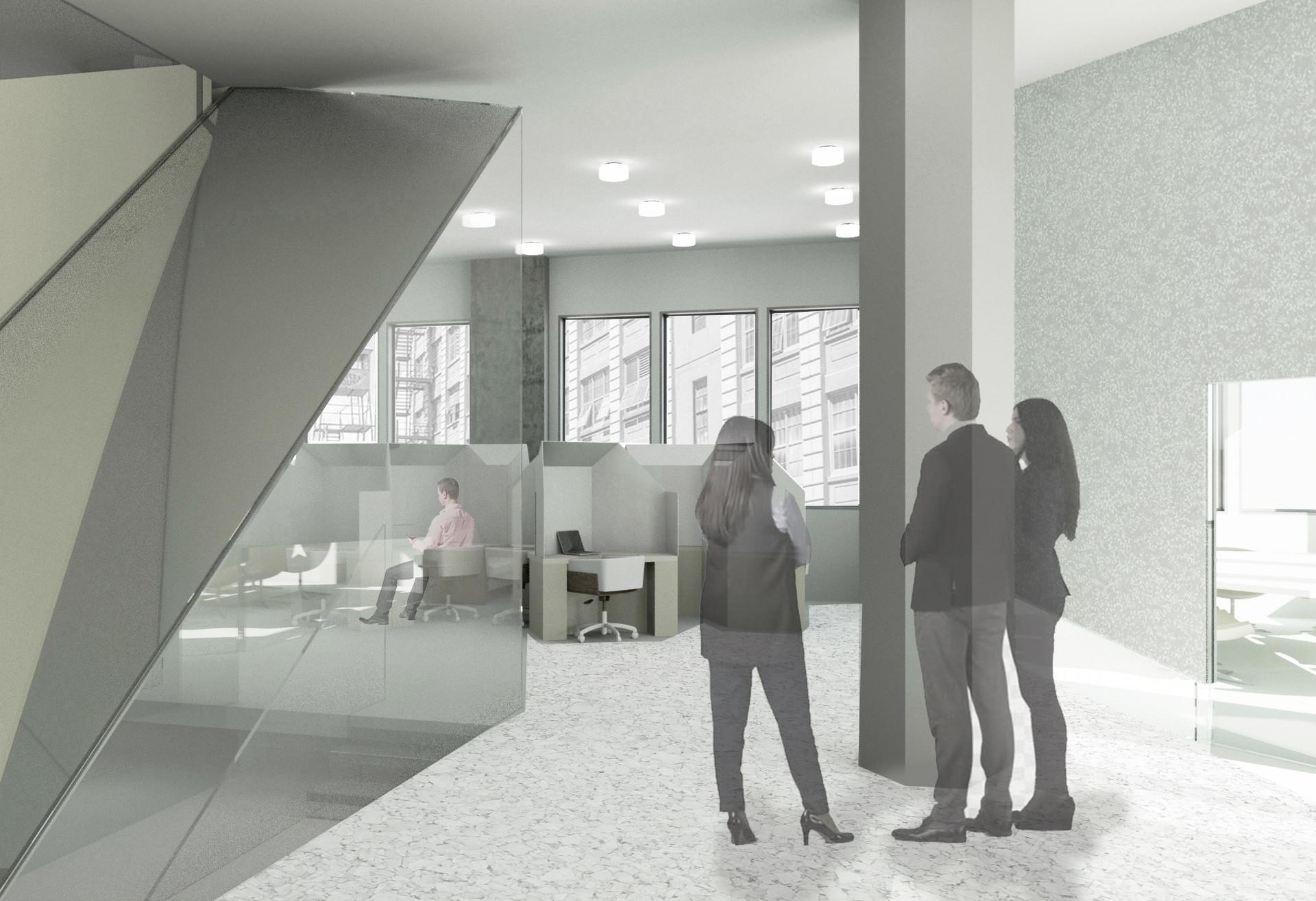 View of 2nd floor open area