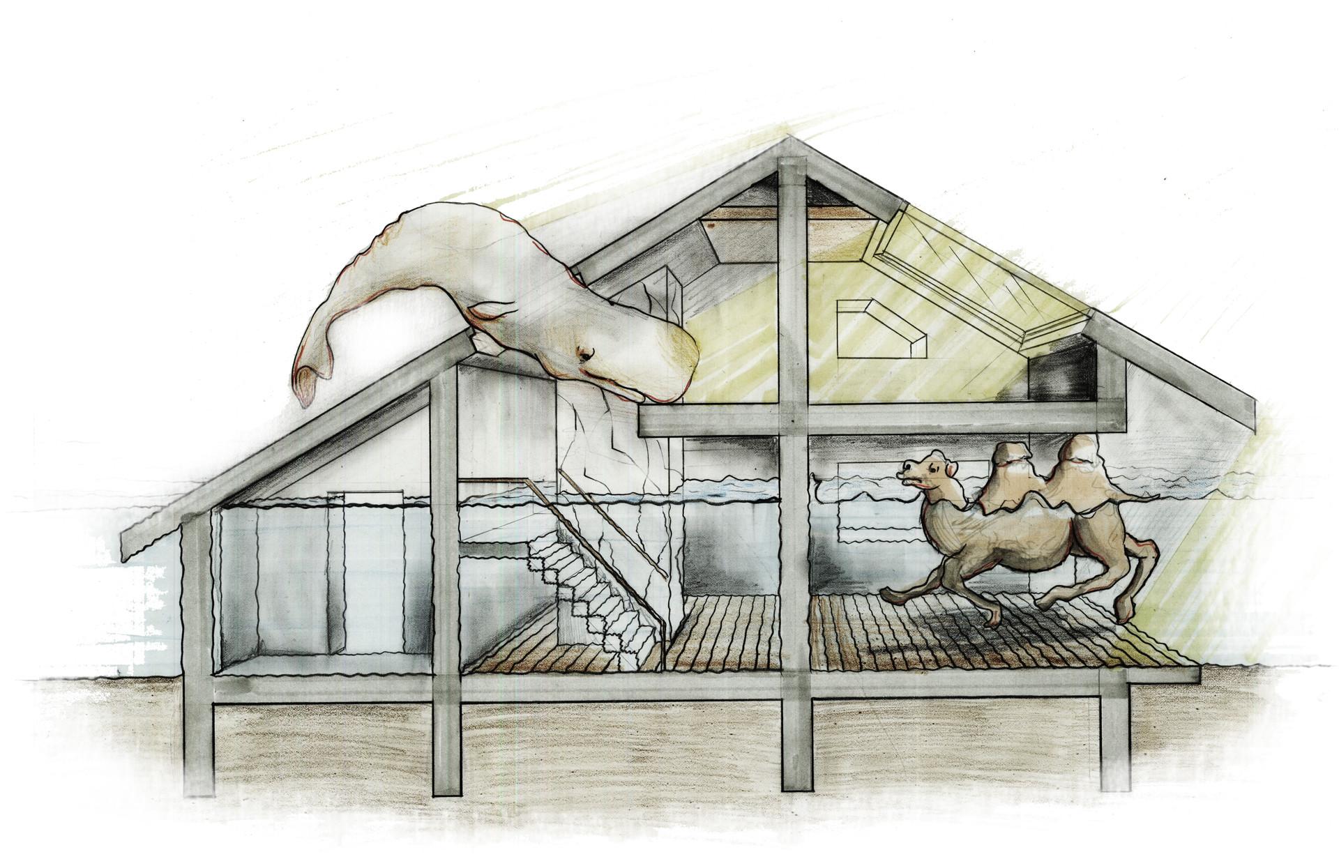 Bi-polar House