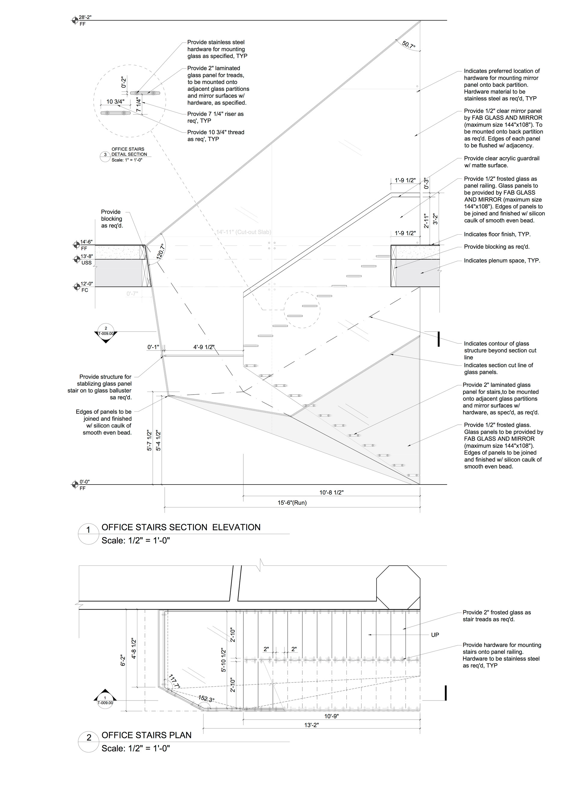 Construction Details for Stairs