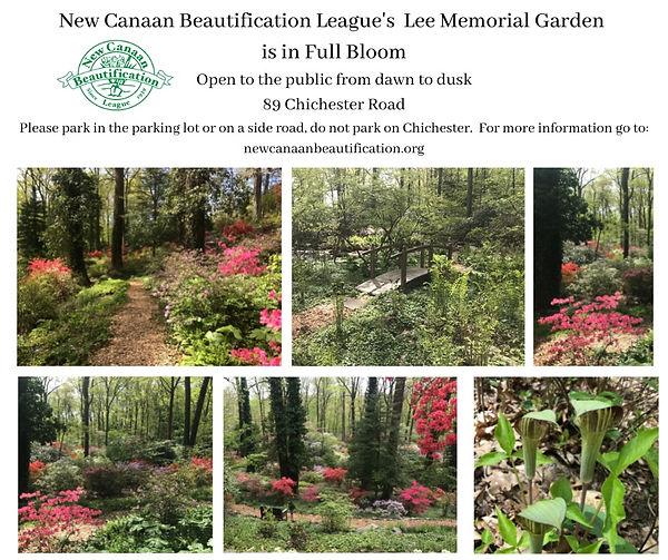 Lee Memorial Garden is in Full Bloom.jpe