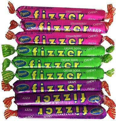 Fizzers Sour Strawberry