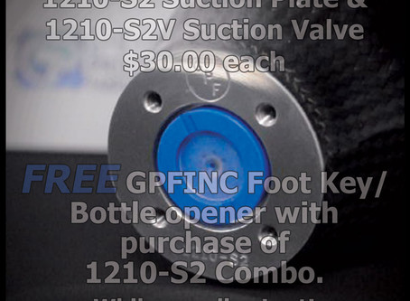 1210-S2 Suction Plate & 1210-S2V valve