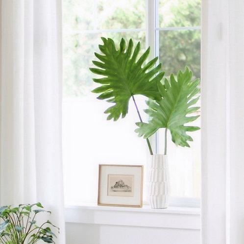 "41.5"" Soft Selloum Philadendron Leaf"