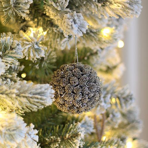 Agoho Ball Ornament (Champagne)