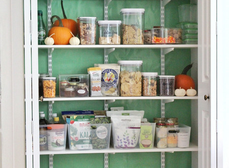 Organizing Your Pantry in 5.5 Steps