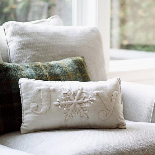 Joy Applique Pillow