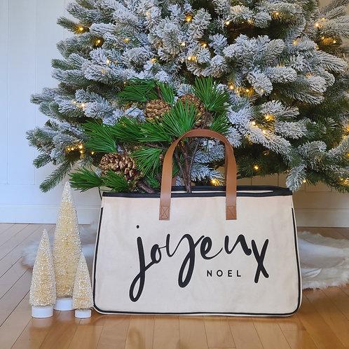 Joyeux Noel Canvas Tote (Pre Order)