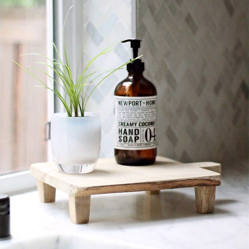 Medium Natural Wood Board Riser