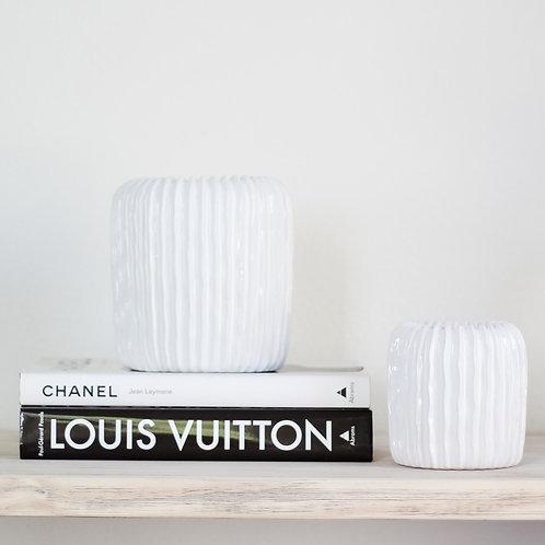 White Organic Vessels