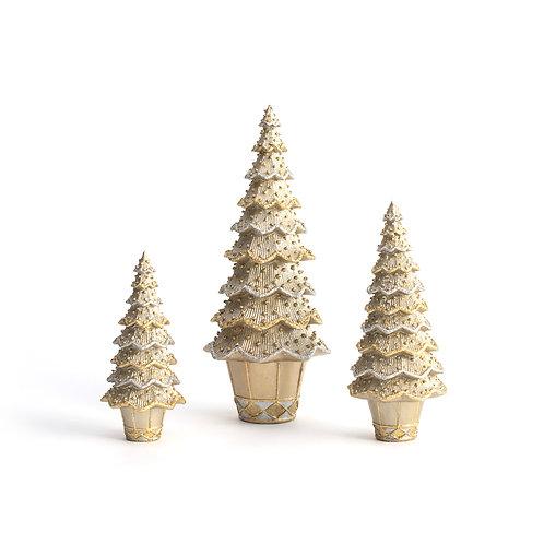 Layered Beaded Cone Tree