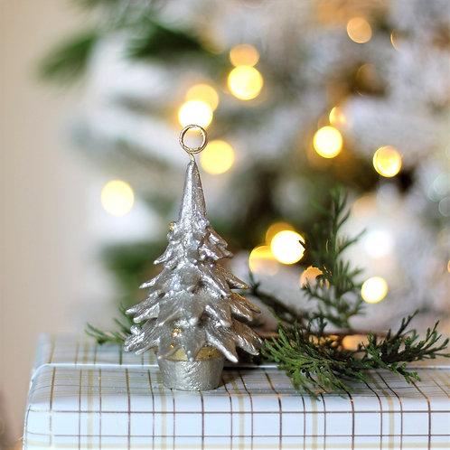 "4"" Tannenbaum Cone Tree Card  Holder Ornament"