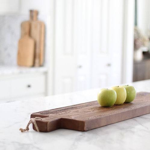 Reclaimed Natural Wood Cheese Board
