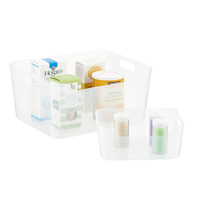 Clear Plastic Storage Bins 2_The Contain