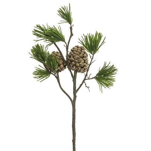 "27"" Pine Spray & Pine Cone"