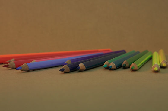 흩어져 연필
