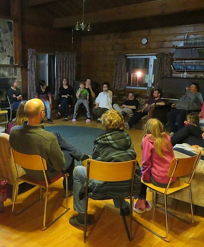 SBC group gathred at Winter Camp
