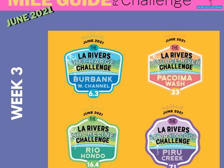 Halfway to the LA Rivers Challenge finish line!