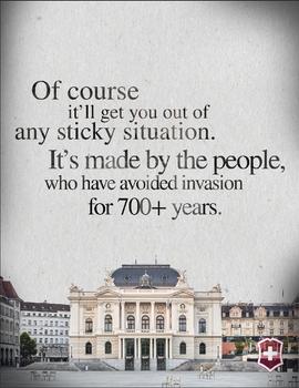 Swiss Army Advert I