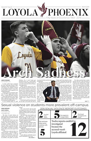 Phoenix Front Arch Sadness