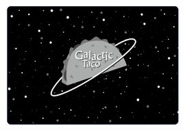 Galactic Taco Logo