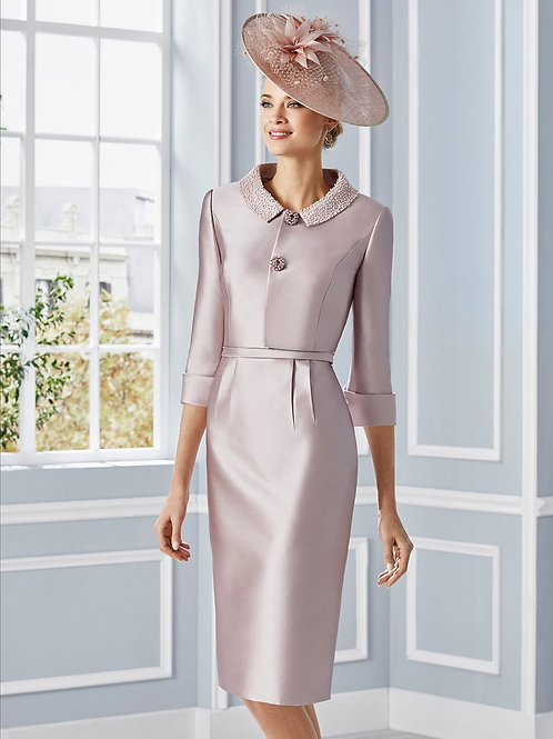 Couture Club Blush Pink Suit
