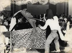 Cena da Peça Tributo a Chico Mendes