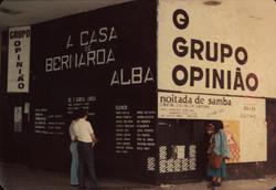 Fachada do Teatro do Grupo Opinião