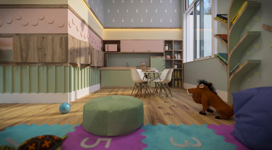 Área Kids - Edifício Francisco Cabral