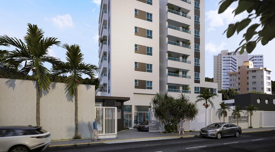 Fachada - Edifício Francisco Cabral