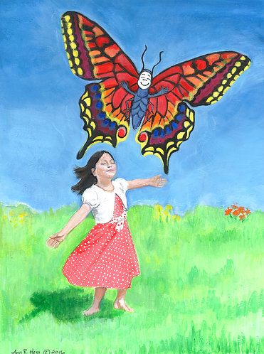Butterfly Print 12x16 inches