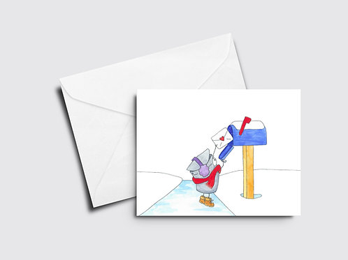 Mailing a Letter - Sappy Bucket
