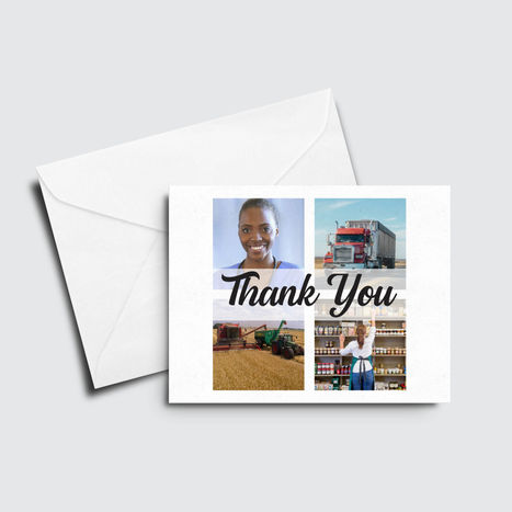 Thank You - Front Line Workers