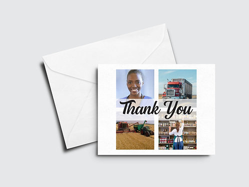 Front Line Workers Thank You Card