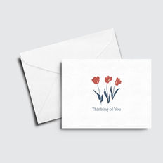 Tulips Thinking of You Card