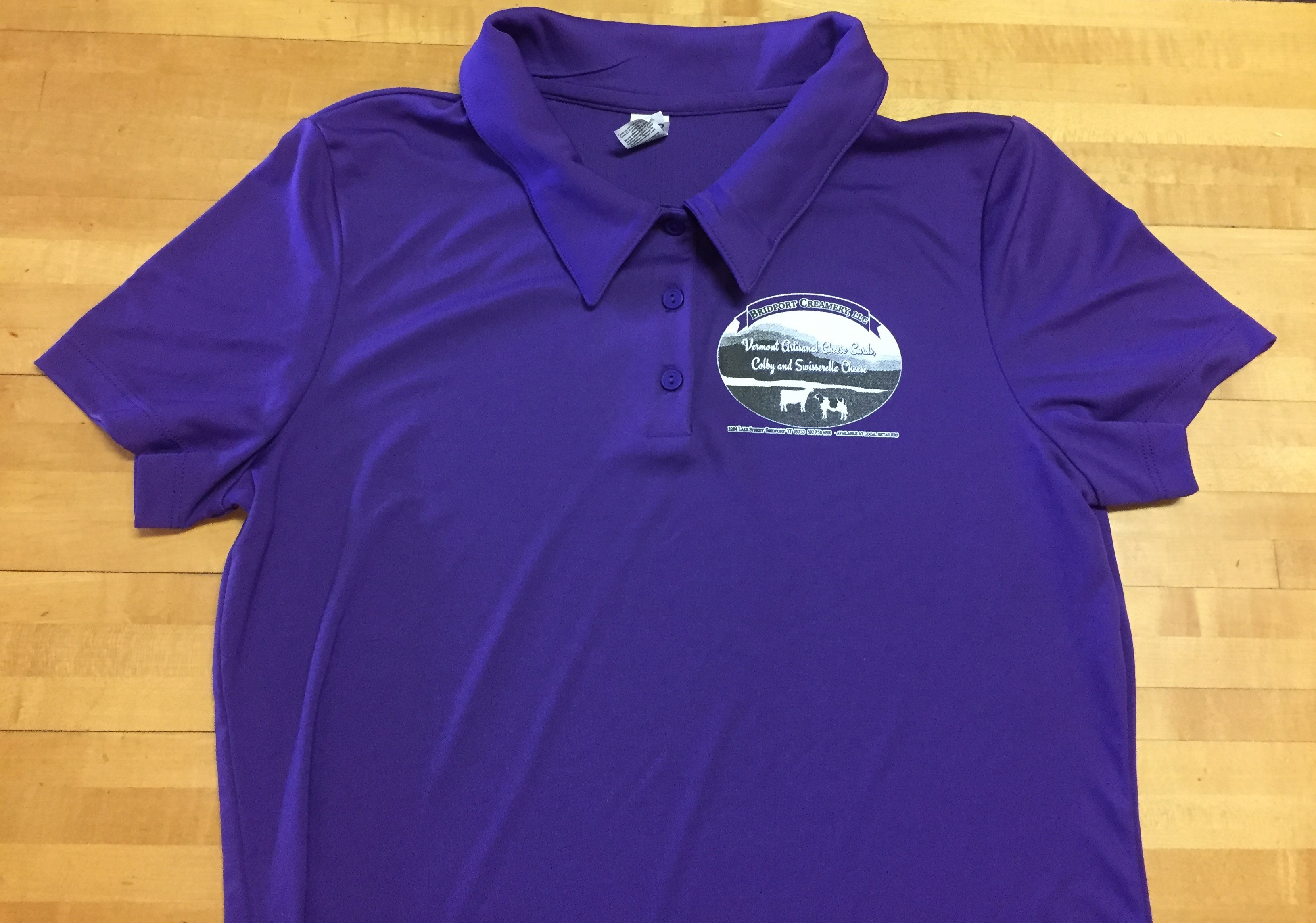 Bridport Creamery Final Purple Shirt