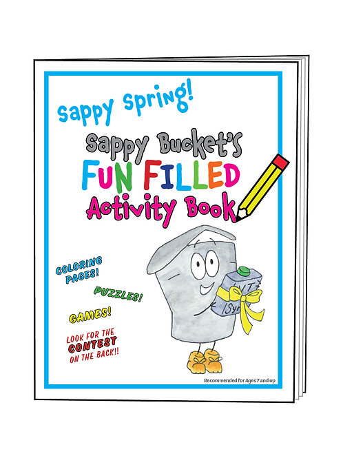 Fun Filled Activity Book - Spring