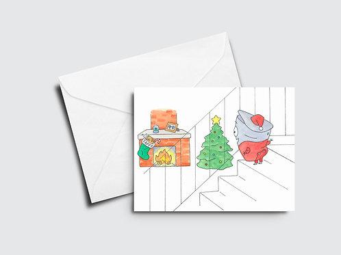 Sappy Holidays IV - Christmas Tree, Stairs, Fireplace - Sappy Bucket™