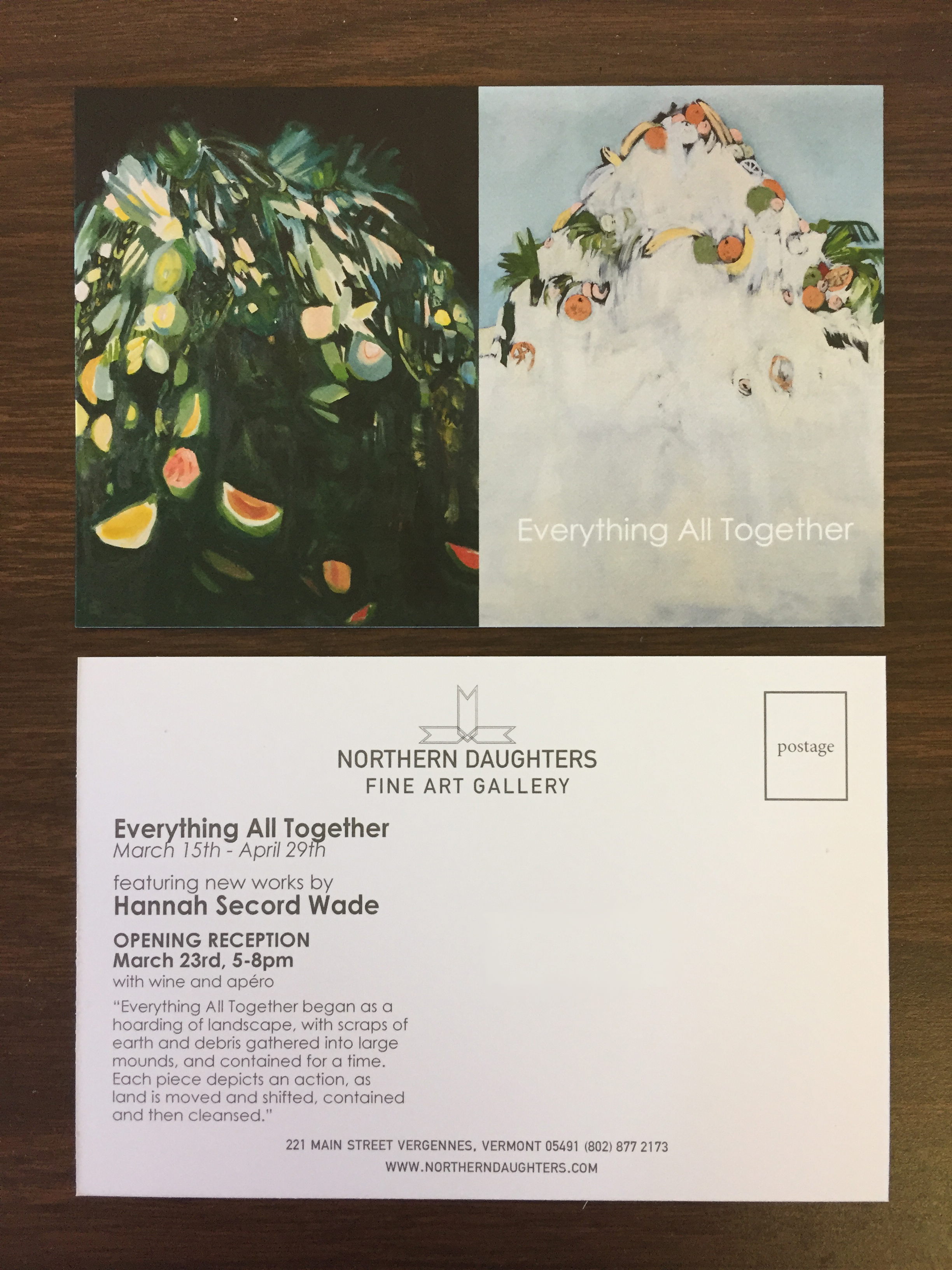 northern daughters postcards