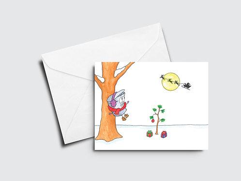 Sappy Holidays I - Reindeer Moon, Baby Christmas Tree - Sappy Bucket™