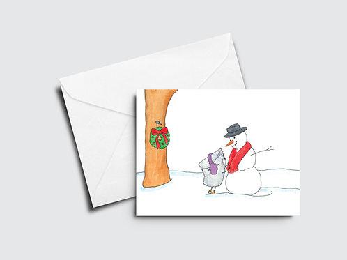 Sappy Holidays III - Snowman - Sappy Bucket™