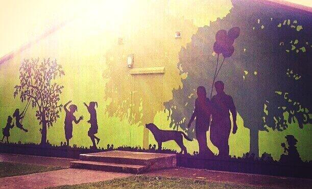 Bungle - Redcatch Park Bristol Mural
