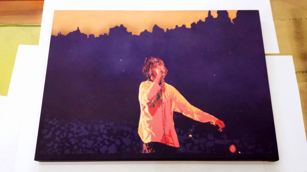 Bungle - Ian Brown Canvas