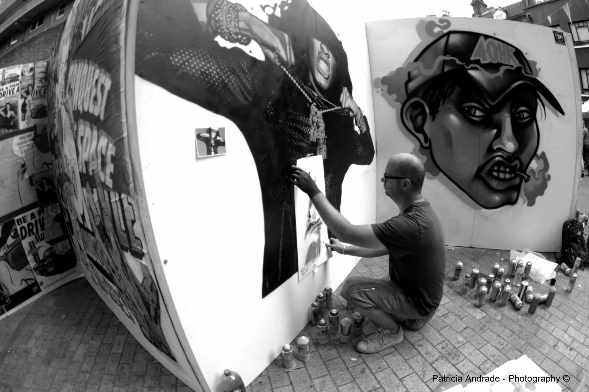 Bungle - Live Painting