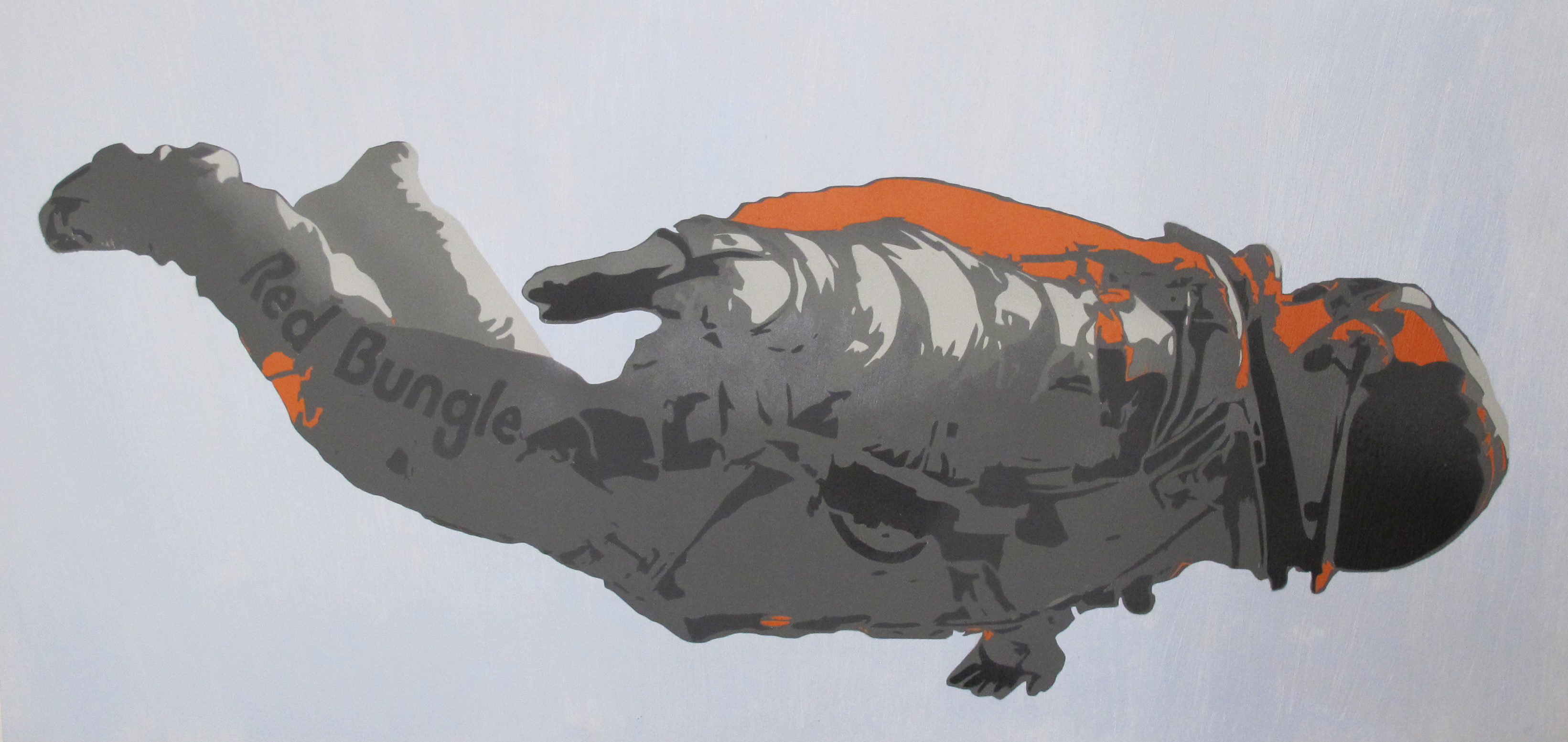 Bungle - Freefall Canvas White