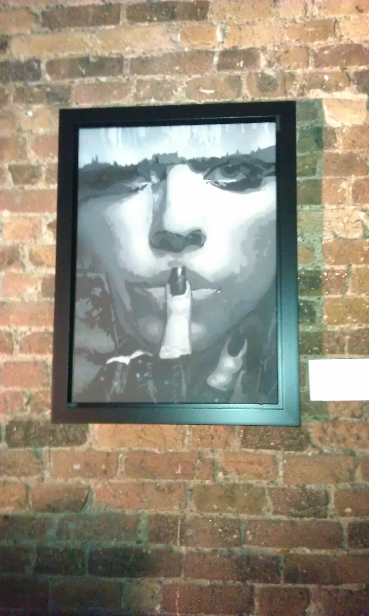 Bungle - Gaga Gaze Canvas