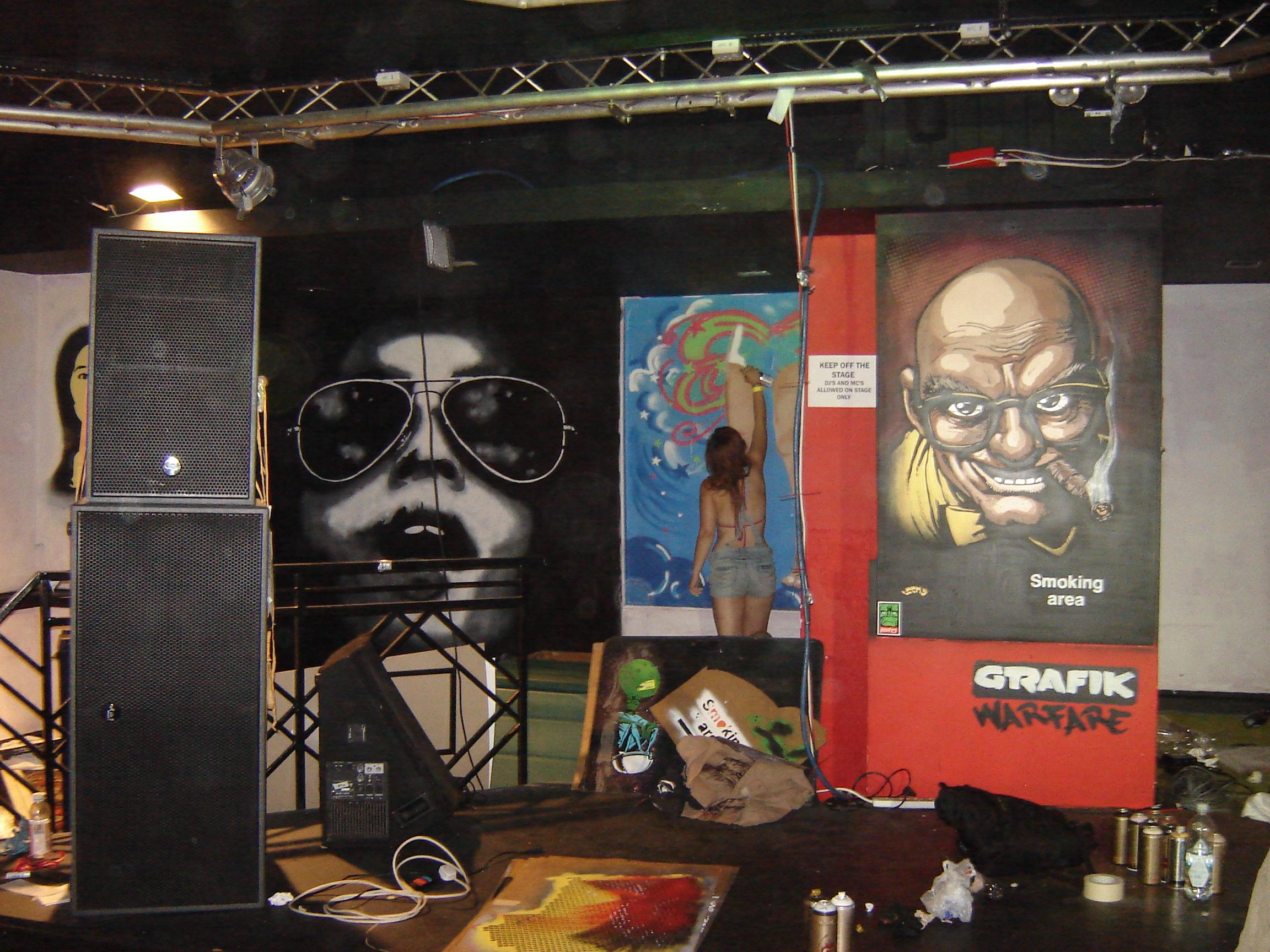 Bungle - Aviator Paint Festival