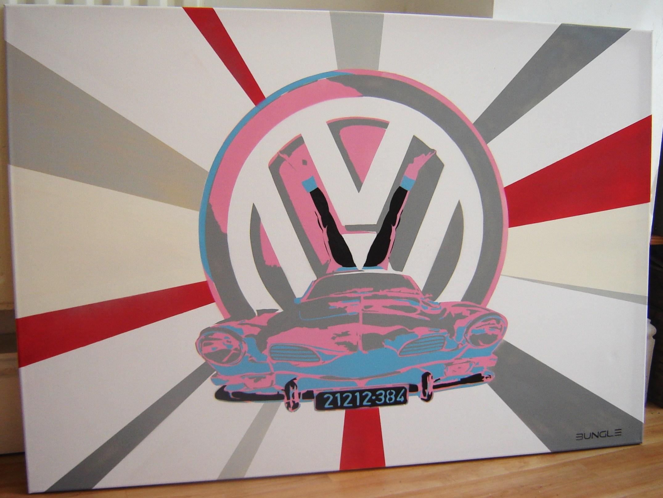 Bungle - Nice Ghia! Canvas