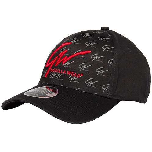 Julian Cap - Black/Red